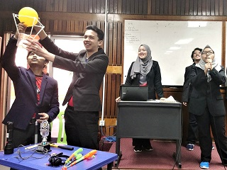 Malaysia University Innompic Games IPMA 2018 Team Presentation Breakthrough Creativity