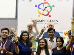 India team, awards, 1st Innompic Games 2017, Pune, Vadim Kotelnikov
