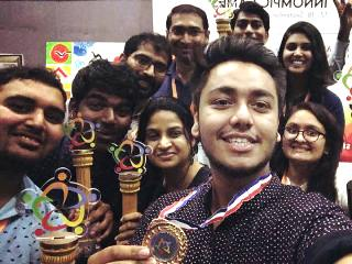 1st Innompic Games, Award Winners, India team