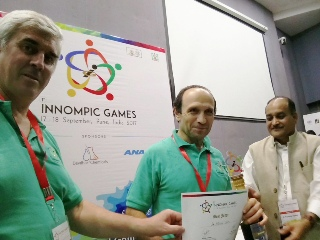 World's Best Innovation Guru, Vadim Kotelnikov, Mike Zelin, Rajendra Jagdale, Russia, USA, India, 1st Innompic games, award winner