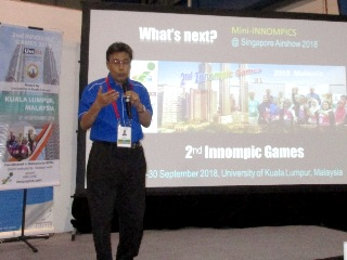 Othman Ismail, Chiarman, 2nd Innompic Games 2018, Malaysia, WNSA, Singapore Airshow, What;s Next?