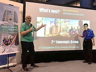 WNSA 2018, Mini-Innompicss, 2nd Innompic Games, Singapore Airshow, Vadim Kotelnikov, Othman Ismail, how to market an INnovative event