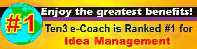 IDEA MANAGEMENT - #1 Site - Ten3 Business e-Coach by Vadim Kotelnikov