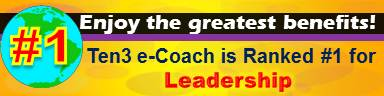 #1 Leadership Site - Ten3 Business e-Coach by Vadim Kotelnikov