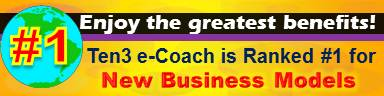New Business Models - #1 Site - Ten3 Business e-Coach by Vadim Kotelnikov