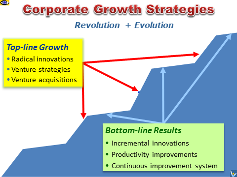 Business Growth Strategies - top-line and bottom-line