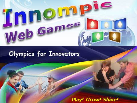 Innompics, Innompic Internet Games, Olympics for Innovators, Entrepreneurial Games