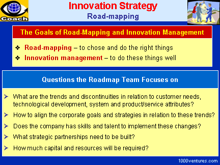 INNOVATION STRATEGY: Road-Mapping (Innovation Strategies)