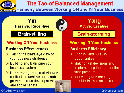 Balanced Manager. Balanced Management: Balancing Outside-In and Inside-Out Approaches