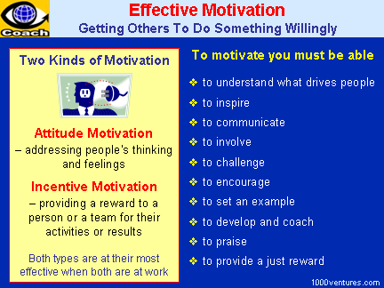 effective motivation how to motivate people motivating employees