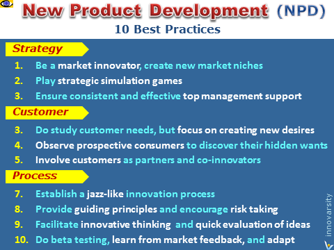 New Product Development NPD 10 Best Innovation Practices