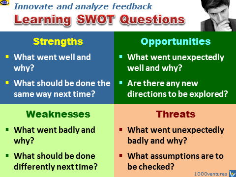 Learning SWOT Questions, emfographics, emotional infographics, Денис Котельников, Dennis Kotelnikov