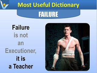 Best success quotes Failure is a teacher Vadim Kotelnikov Dennis Most Useful Dictionary