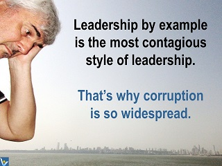 Leadership quokes, humorous quotes Vadim Kotelnikov corruption jokes leadership ny example