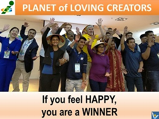 Happy Winners Innompic Games Planet of Loving Creators
