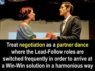 Negotiation is dance Wini-Win solution Vadim Kotelnikov quotes