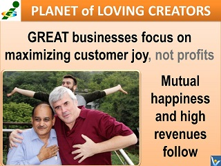 Vadim Kotelnikov Happy Business quote Rajendra Jardale Magomed Gamzatov