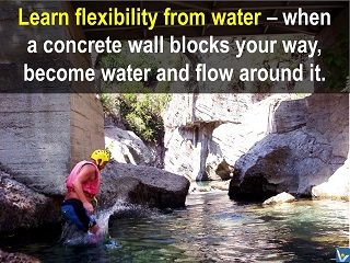 Flexibility quotes smart achievement advice learn flexibility from water Vadim Kotelnikov