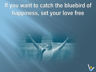 Catch Blue Bird of Happiness Set Your Love Free Vadim Kotelnikov quotes