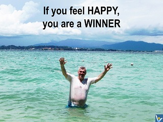 Happy Winner Vadim Kotelnikob happiness quotes