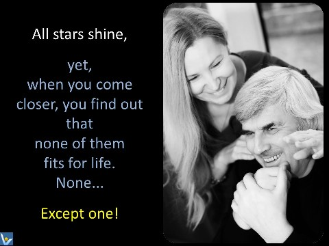 Happy Loving Marriage quotes, star to live, Vadim Kotelnikov Irina, photogram